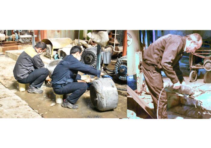 انجام تعمیرات و نگهداری در کارخانه قند نیشابور