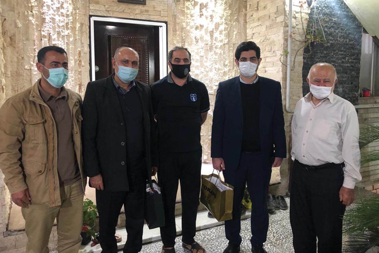 تجلیل هیات دوچرخه سواری سپاه مازندران از مدیرعامل بهپاک