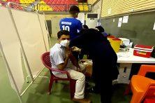 پرسنل شرکت به پخش در گرگان برابر کرونا واکسینه شدند
